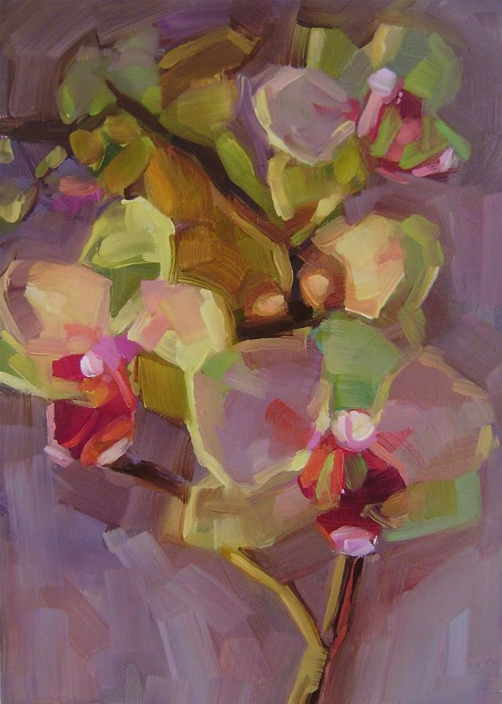 """Orchid 1"" original fine art by Holly Storlie"