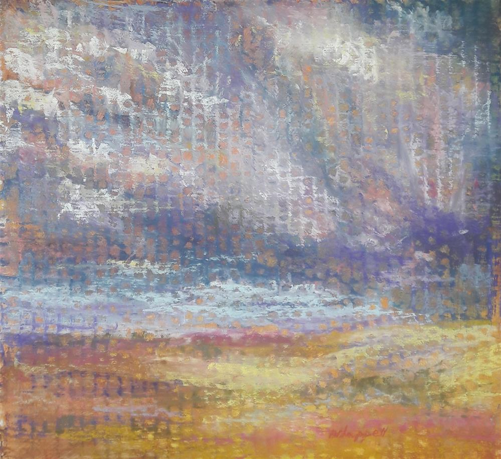 """""""Impending"""" original fine art by Becky Chappell"""
