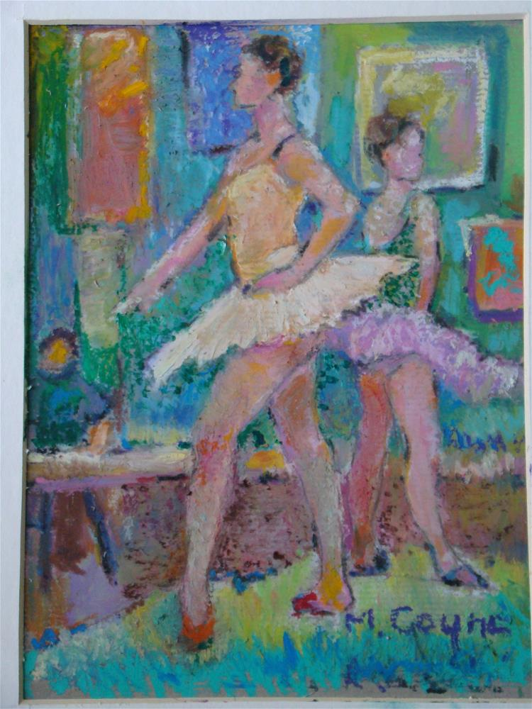 """ballet"" original fine art by meribeth coyne"