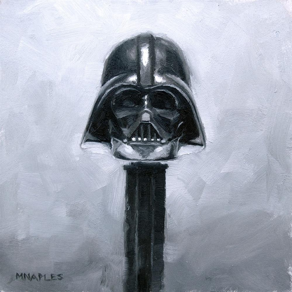 """Darth Vader Pez"" original fine art by Michael Naples"