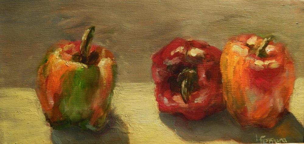 """""""Late Summer Bells"""" original fine art by Lina Ferrara"""