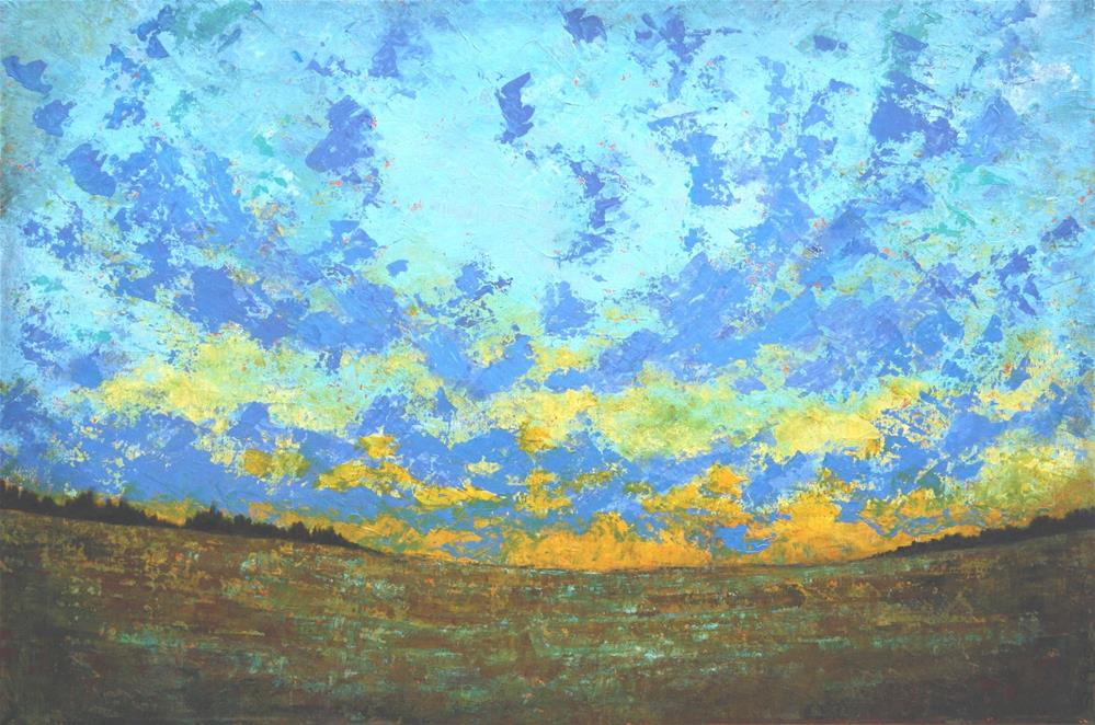 """Beautiful Evening"" original fine art by Sage Mountain"