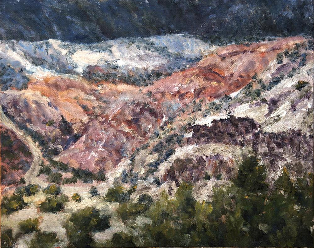"""Near Ghost Ranch"" original fine art by Candi Hogan"