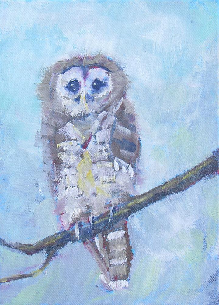 """'Nother Owl"" original fine art by Dave Gehman"