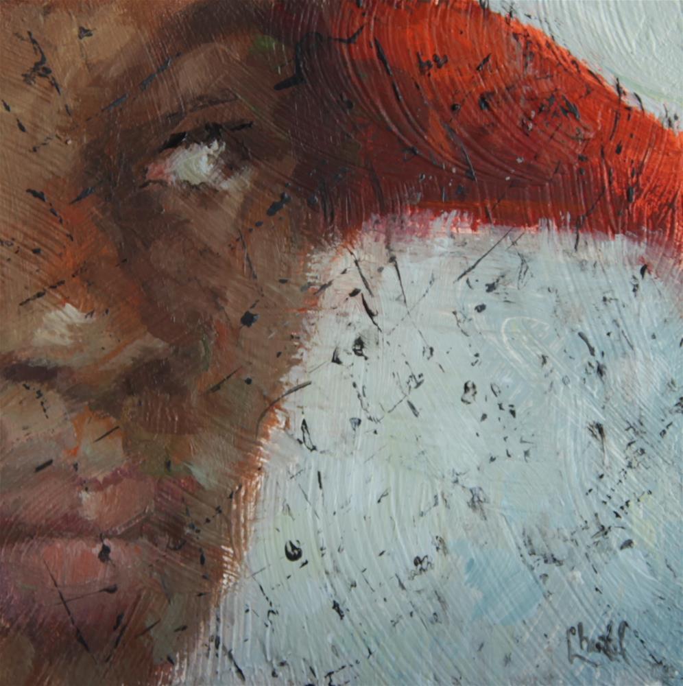 """""""The Veil"""" original fine art by Chantel Barber"""