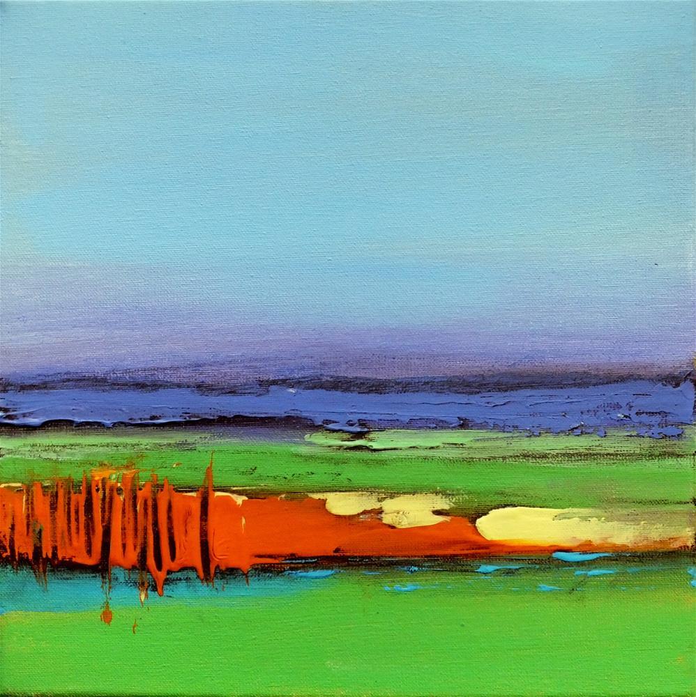 """Landscape 301"" original fine art by Ewa Kunicka"