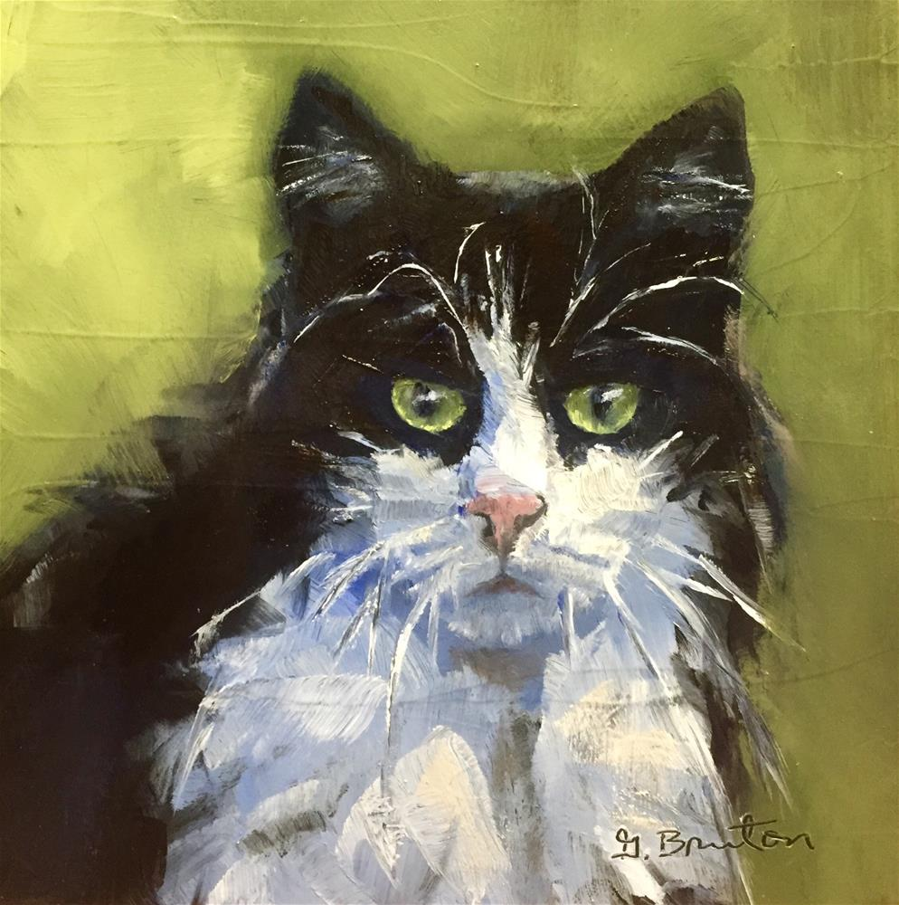 """The Stare"" original fine art by Gary Bruton"