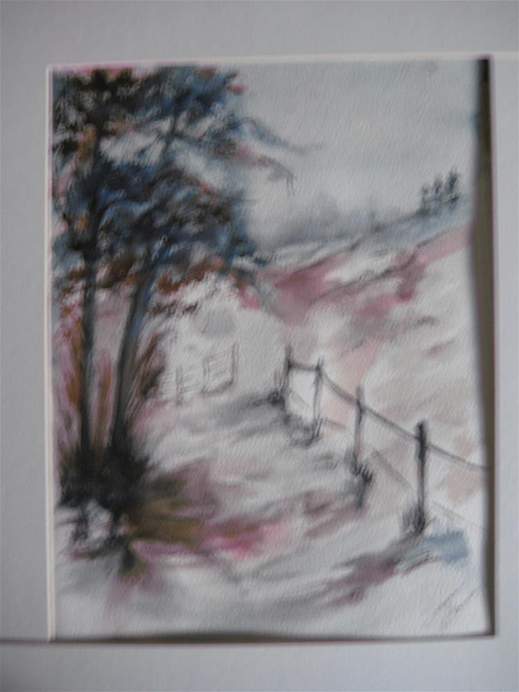 """Rural Path"" original fine art by Susan Brens"