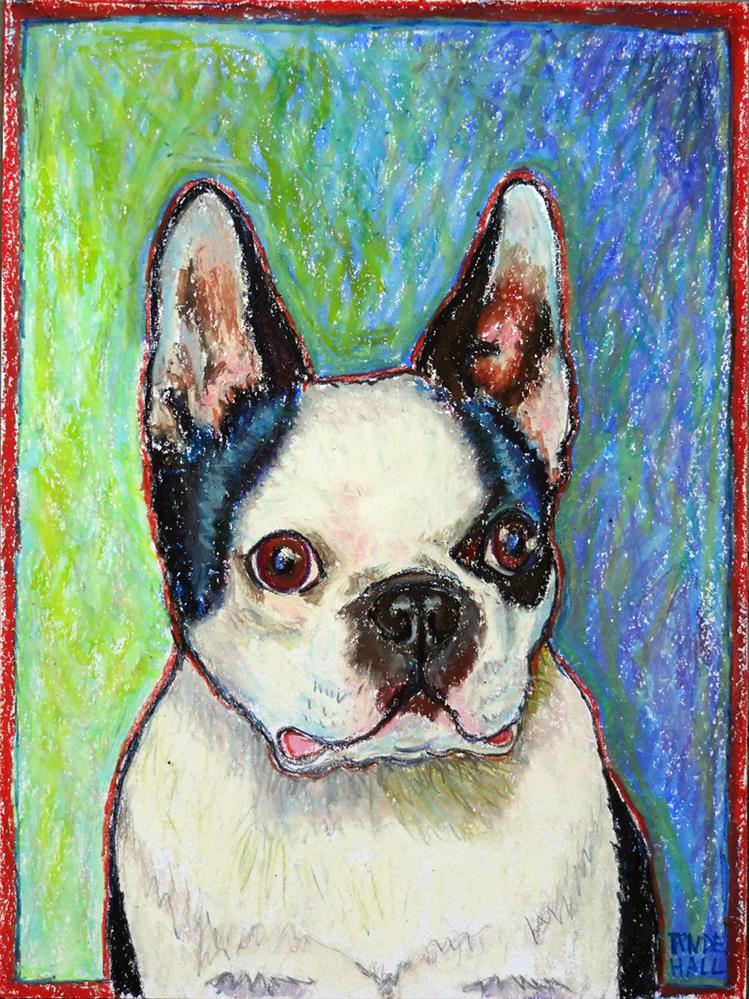 """Buster"" original fine art by Ande Hall"