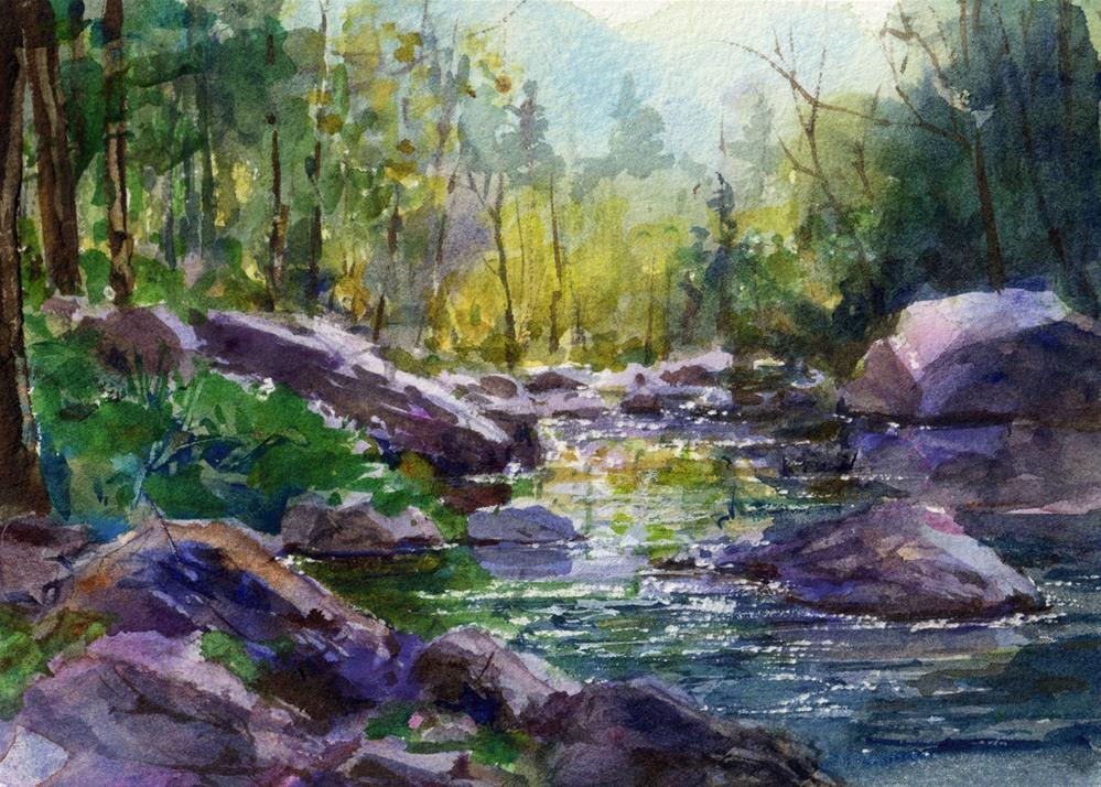 """Sedona Spring"" original fine art by Linda Henry"