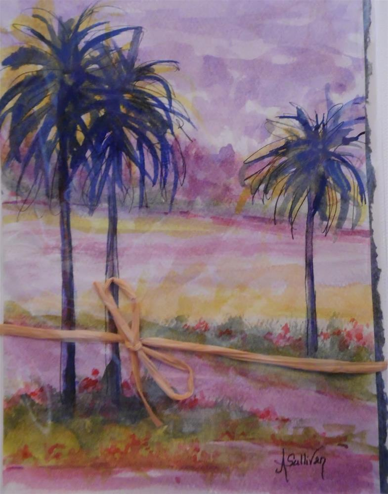 """The Getaway by Alabama Artist Angela Sullivan"" original fine art by Angela Sullivan"