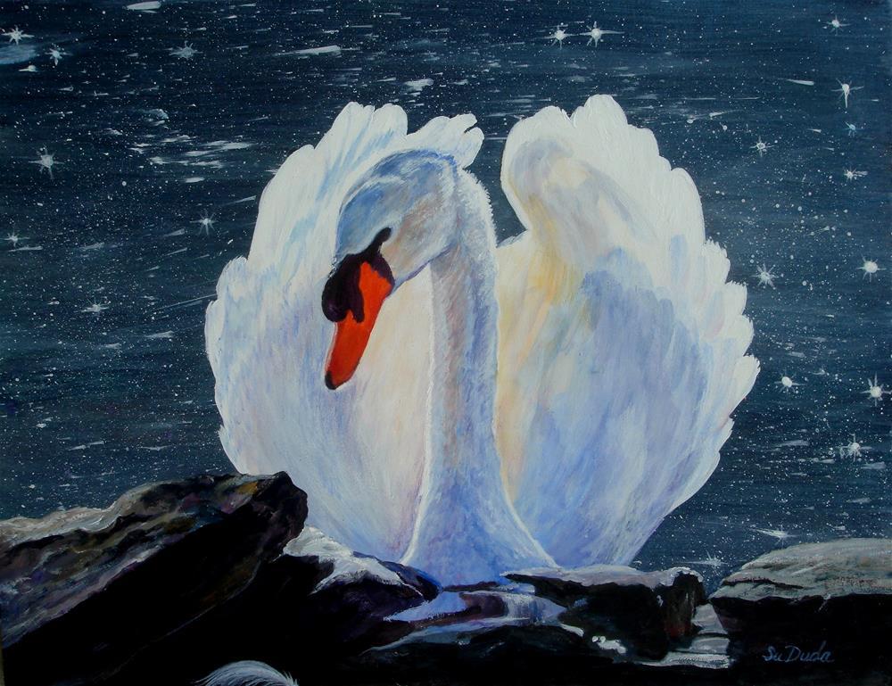 """""""Enchanted"""" original fine art by Susan Duda"""