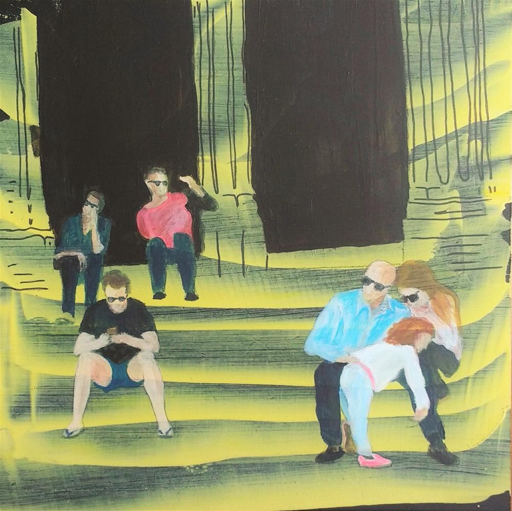 """""""take a break"""" original fine art by Sandra Woerner"""