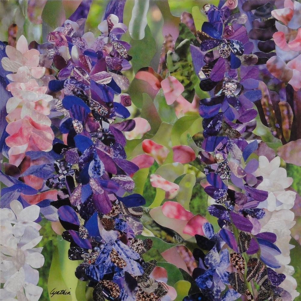 """Not-so-Wild Lupins"" original fine art by Cynthia Frigon"