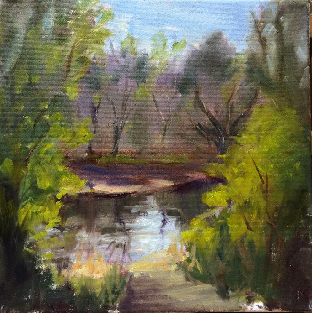 """Spring Water"" original fine art by Naomi Bautista"