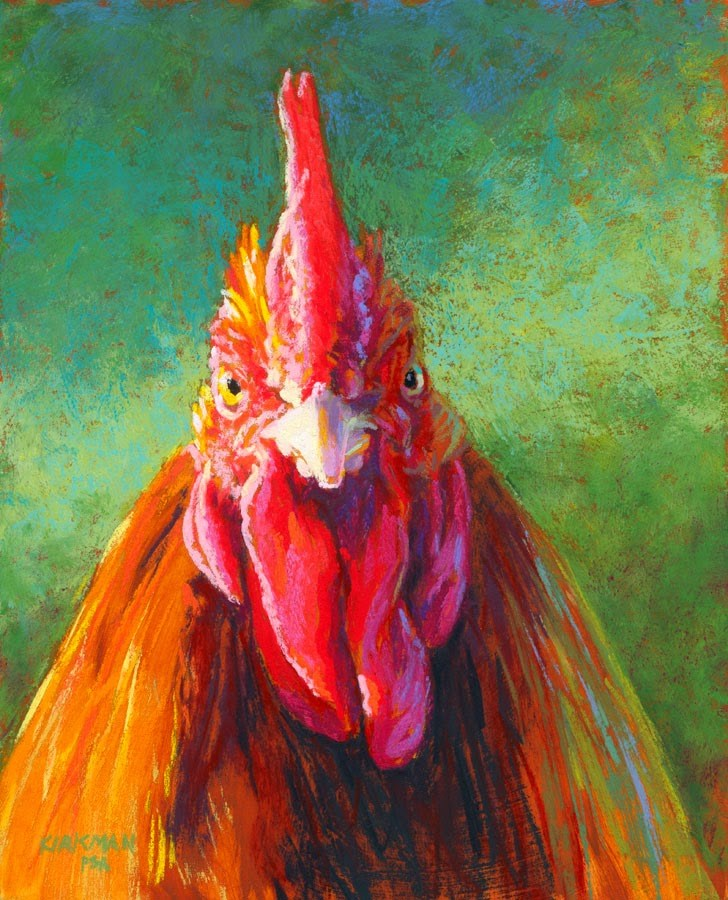 """""""Bruiser - day 21"""" original fine art by Rita Kirkman"""