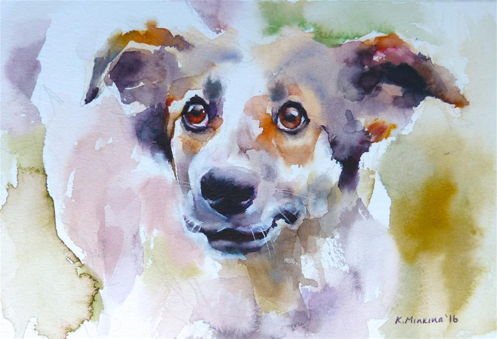 """adopt164"" original fine art by Katya Minkina"