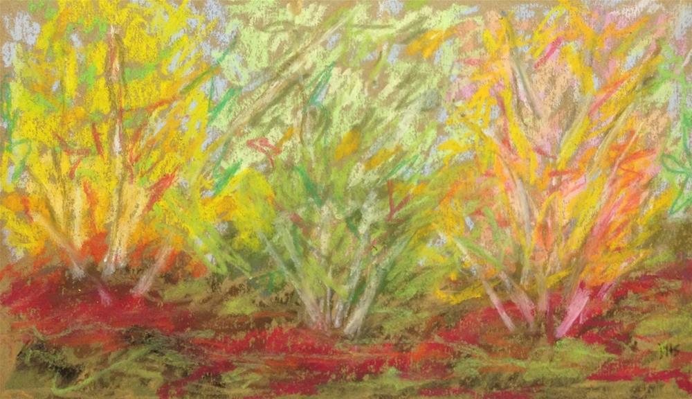 """Sunporch Solitude"" original fine art by Dotty  Seiter"