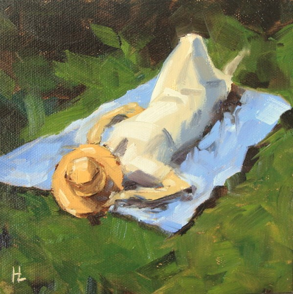 """Summer Day"" original fine art by Heather Lehmberg"