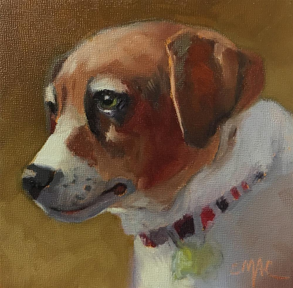 """Scout"" original fine art by Carolyn McDonald"