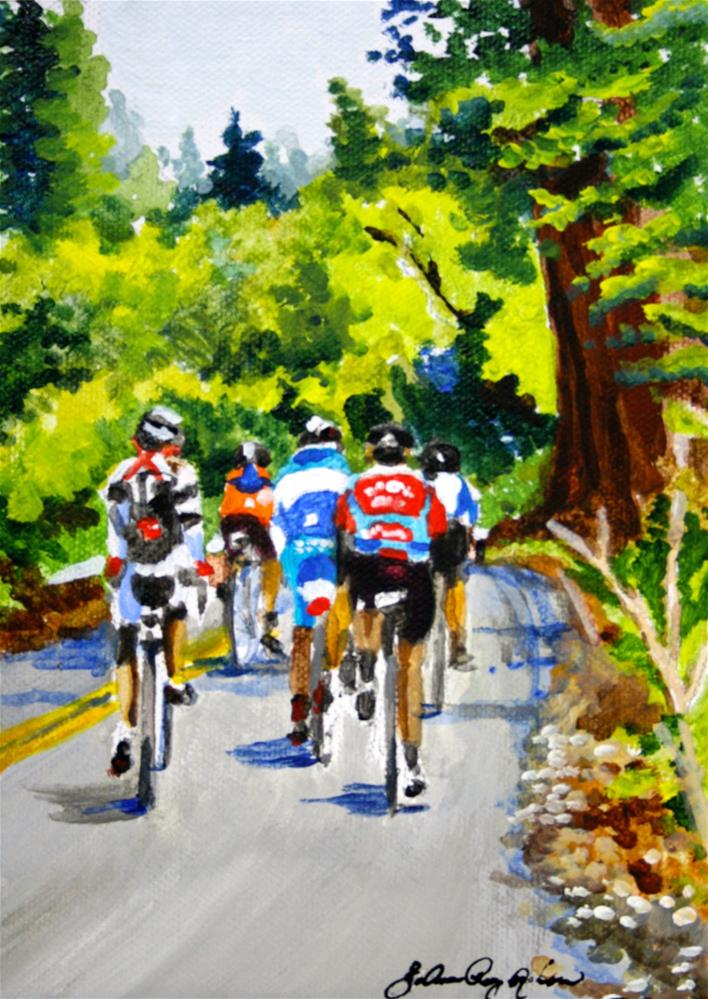 """Road Warriors"" original fine art by JoAnne Perez Robinson"