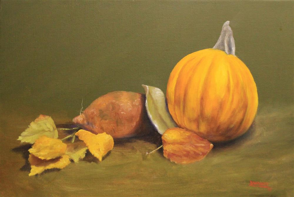 """Fall Still Life"" original fine art by Daniel Varney"