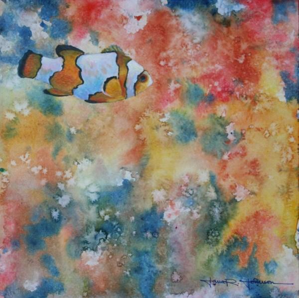 """""""Blending In"""" original fine art by Jana Johnson"""