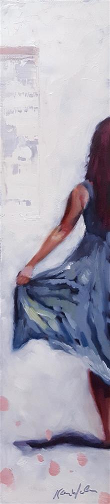 """Half and Then Some"" original fine art by Karen Weber"