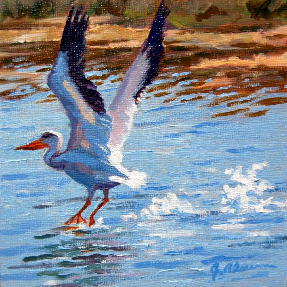 """Take Off"" original fine art by Gary Alsum"