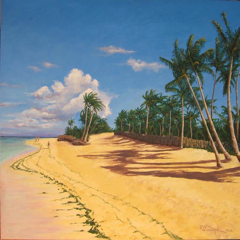 """Punta Cana Afternoon"" original fine art by Richard Doyle"