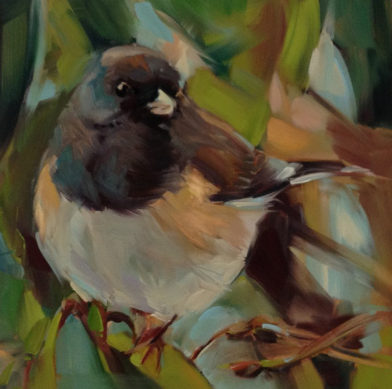 """Big Ball O Fluff"" original fine art by Patti McNutt"