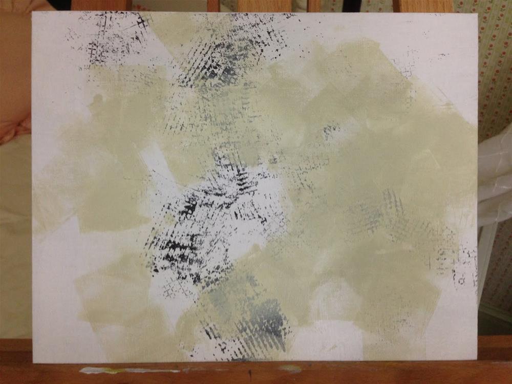 """Rainy Day Rivulets"" original fine art by Dotty  Seiter"