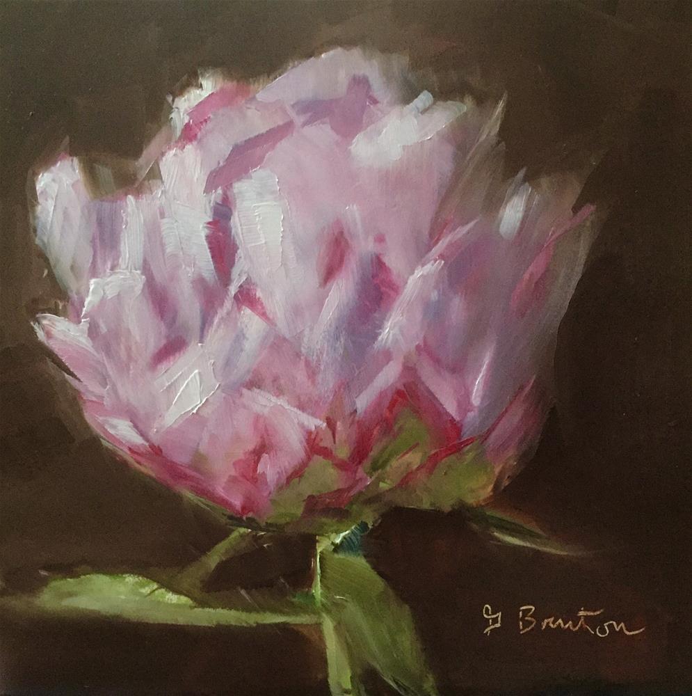 """""""Peony Blossom"""" original fine art by Gary Bruton"""