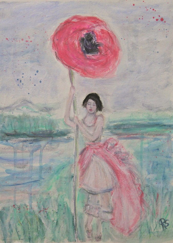 """""""Serenity"""" original fine art by Roberta Schmidt"""