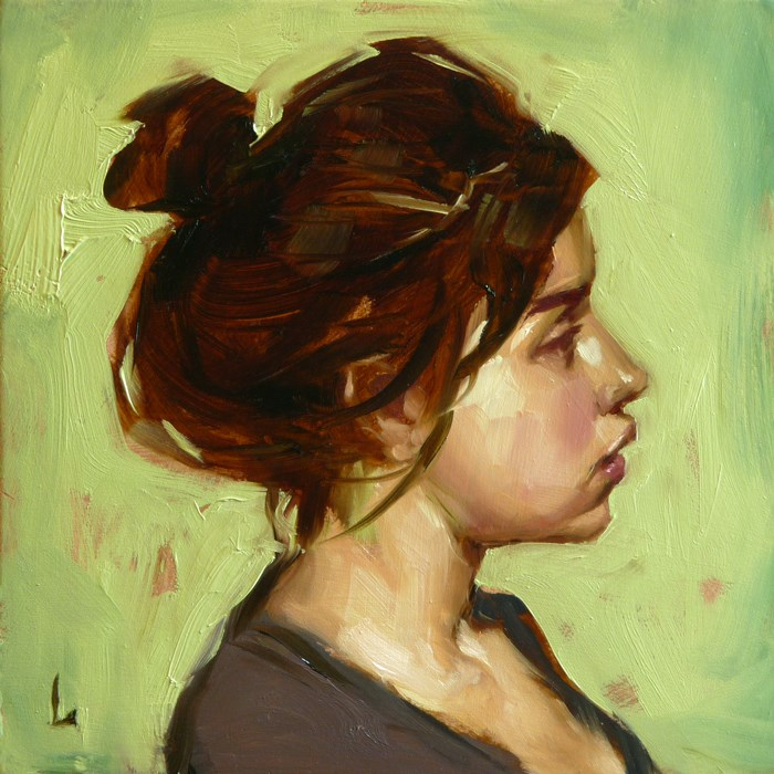 """Bun"" original fine art by John Larriva"
