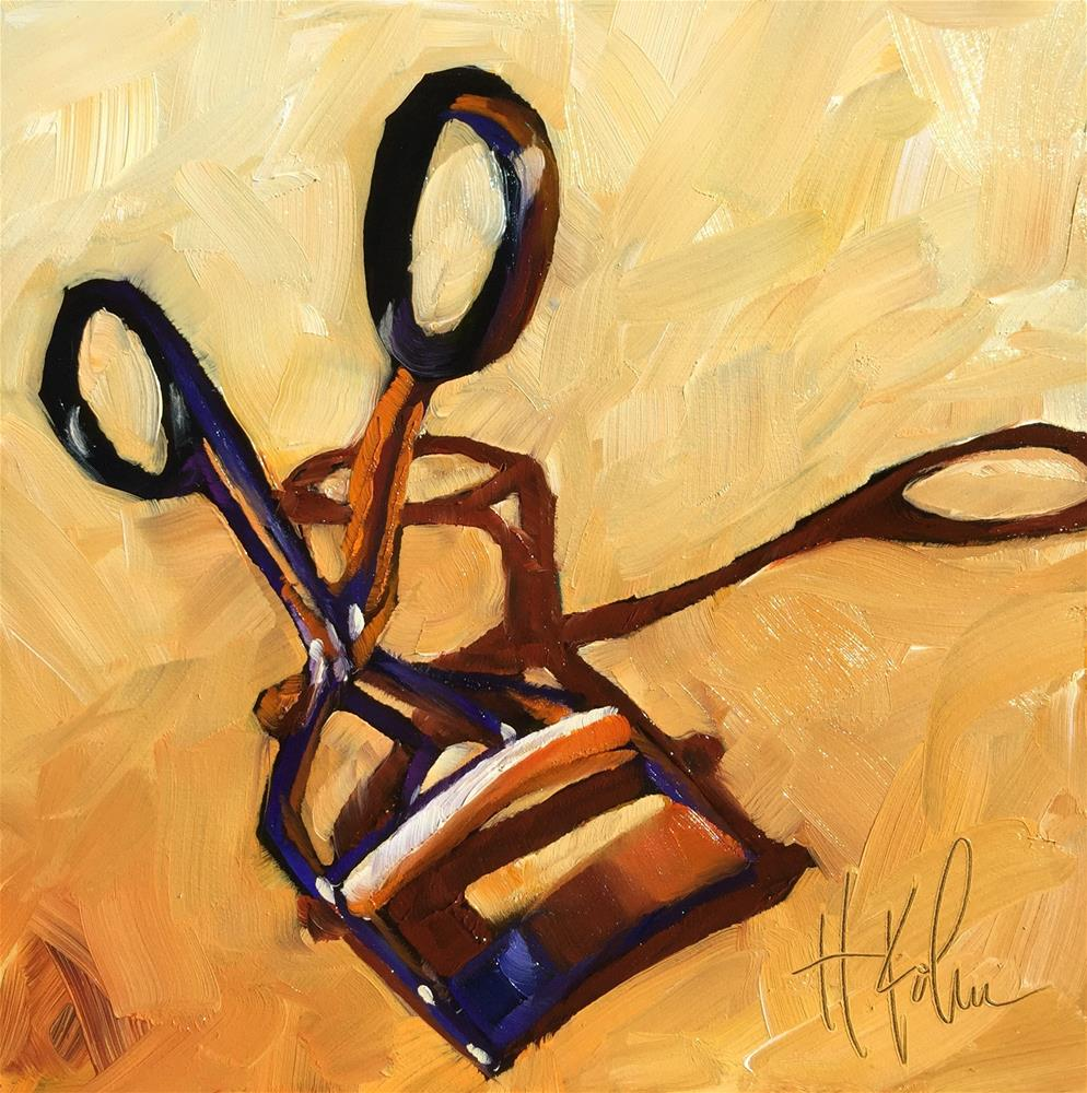 """Torture Device"" original fine art by Hallie Kohn"