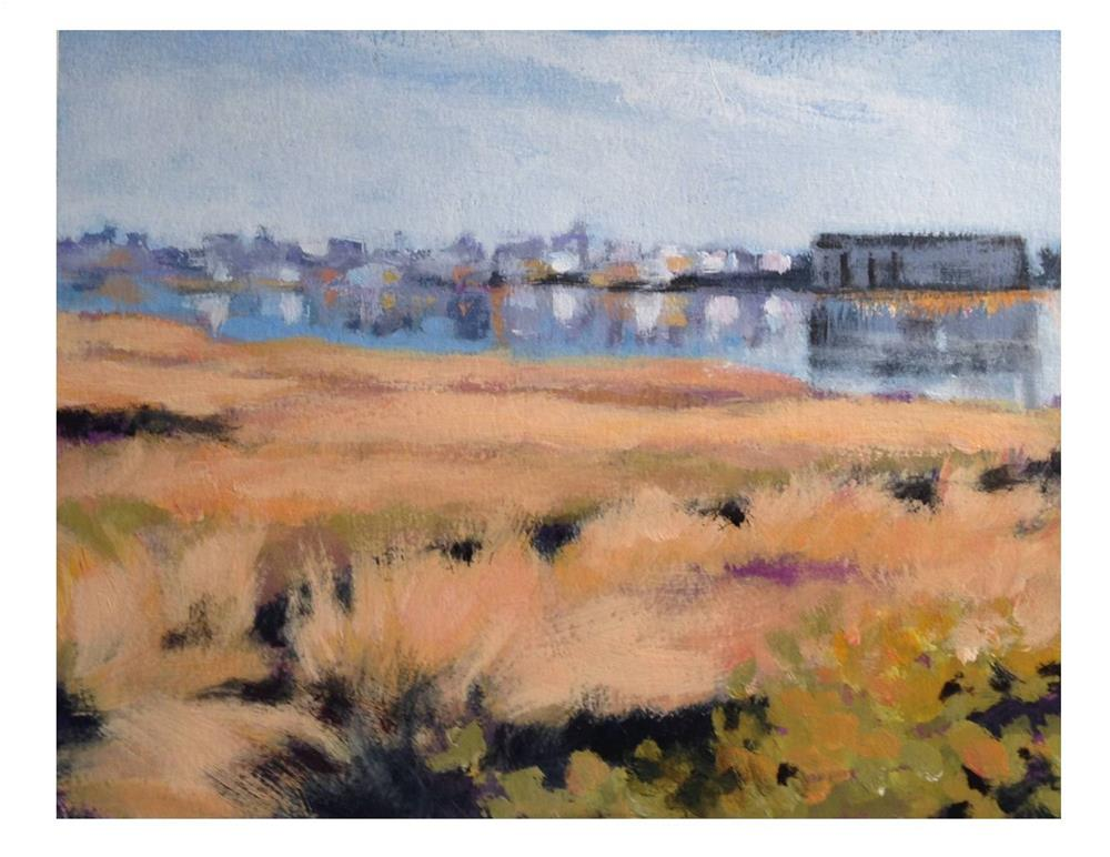 """Portland Skyline 1"" original fine art by Suzanne Woodward"