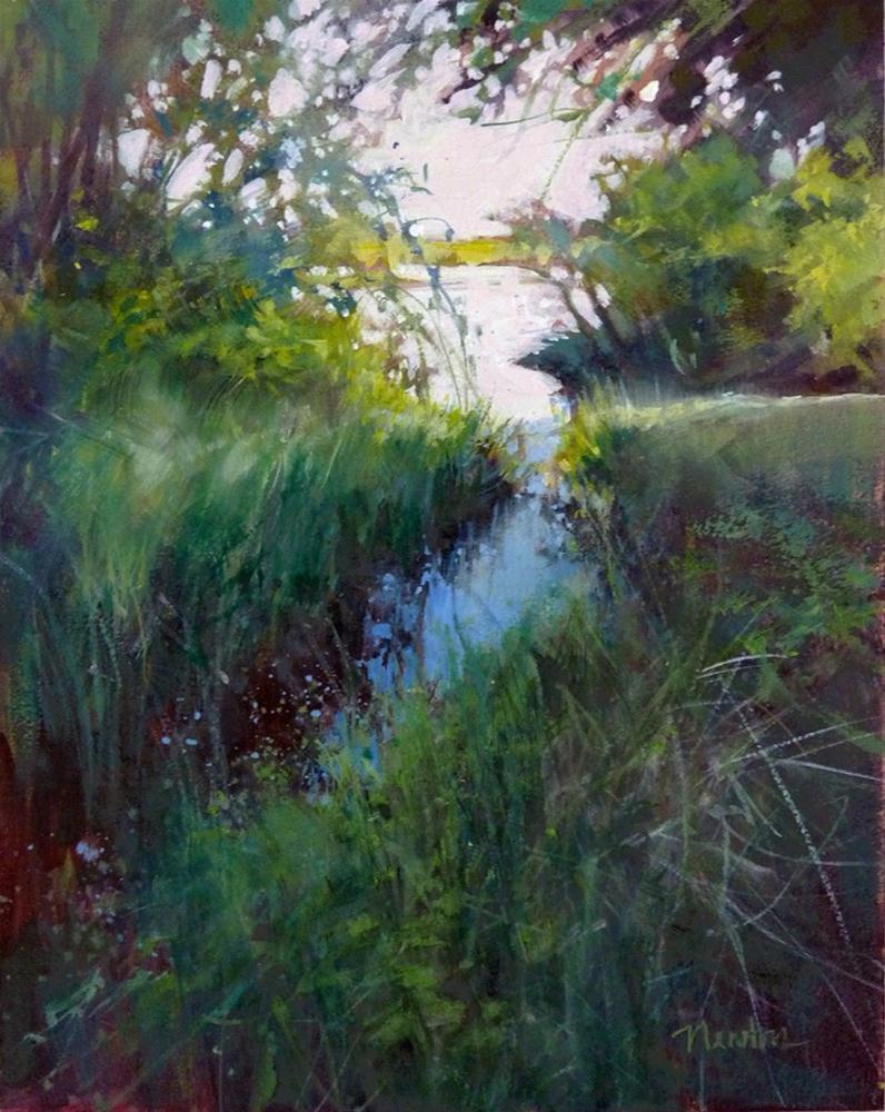 """""""Oil, Color Study 4"""" original fine art by Barbara Benedetti Newton"""