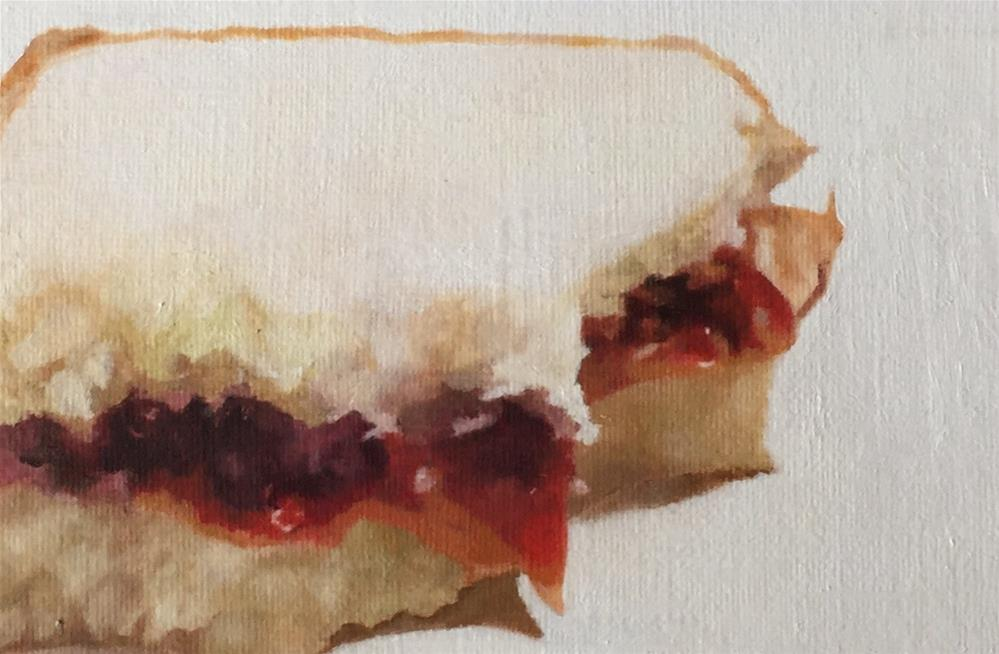"""PB & Jelly Sanwich"" original fine art by John Cameron"