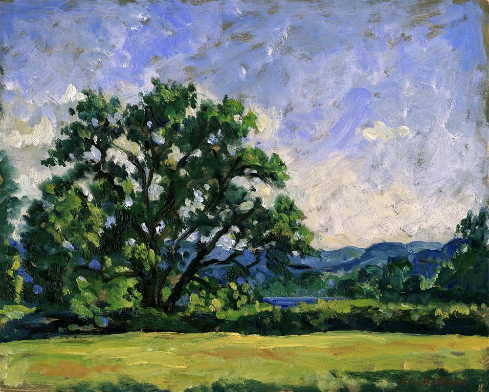 """Tanglewood Afternoon"" original fine art by Thor Wickstrom"
