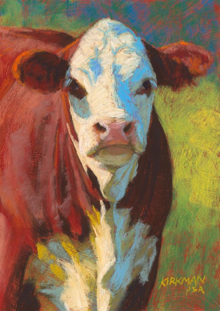 """Nutmeg"" original fine art by Rita Kirkman"