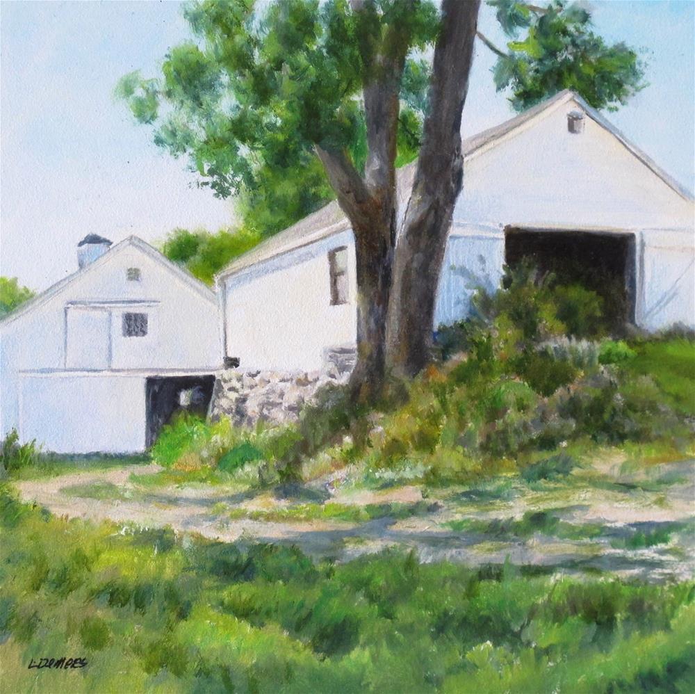"""Codman Farm"" original fine art by Linda Demers"