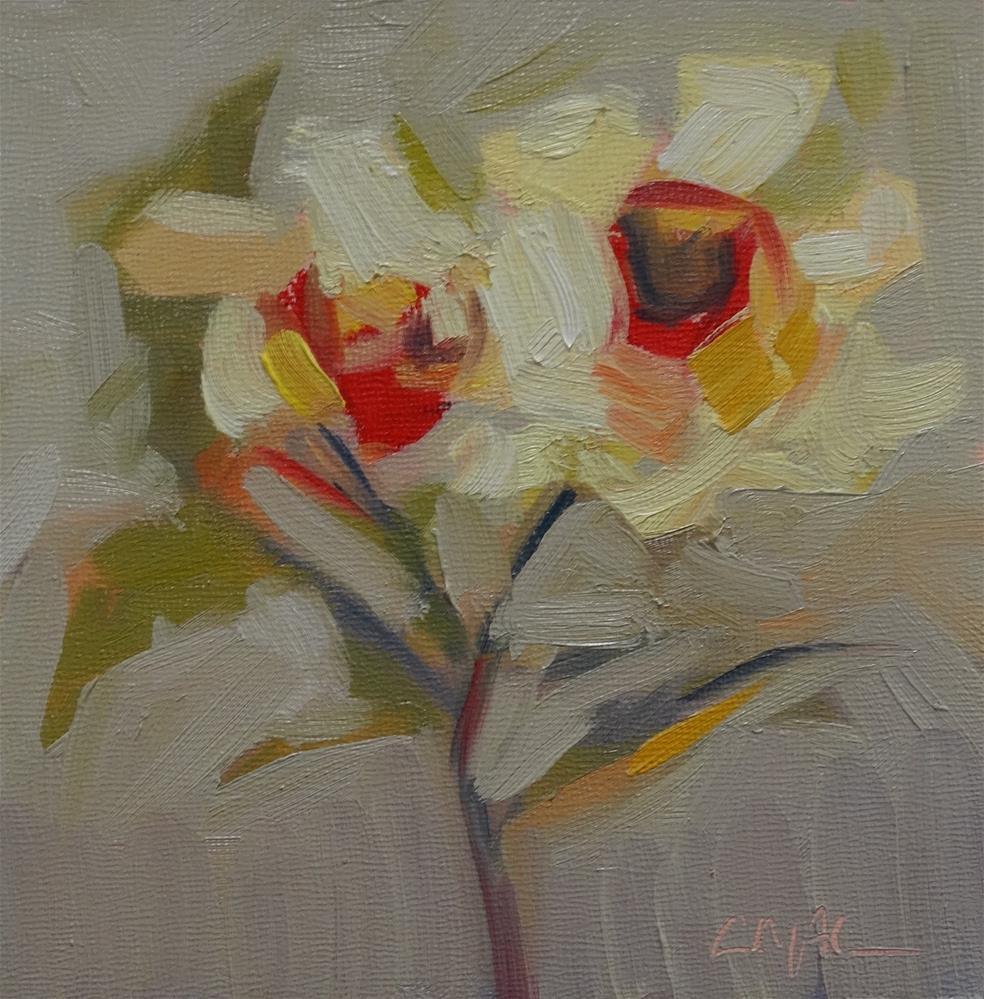 """Sweetly Scented"" original fine art by Carolyn McDonald"