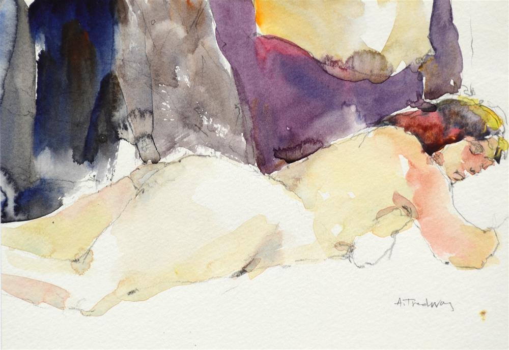 """Bonnie at Rest"" original fine art by alicia tredway"
