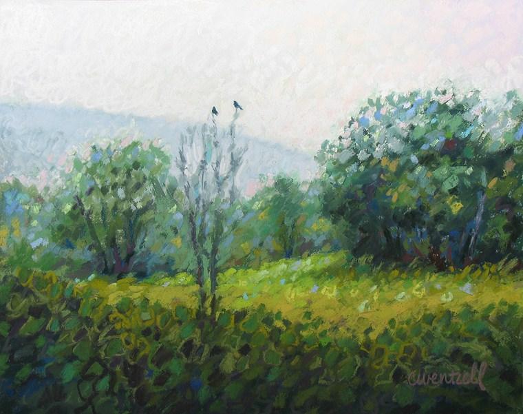 """""""A Moment's Rest"""" original fine art by Cindy Wentzell"""