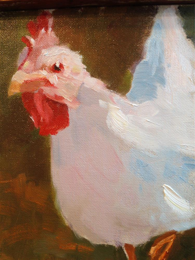 """Chicken Little"" original fine art by Patty Voje"