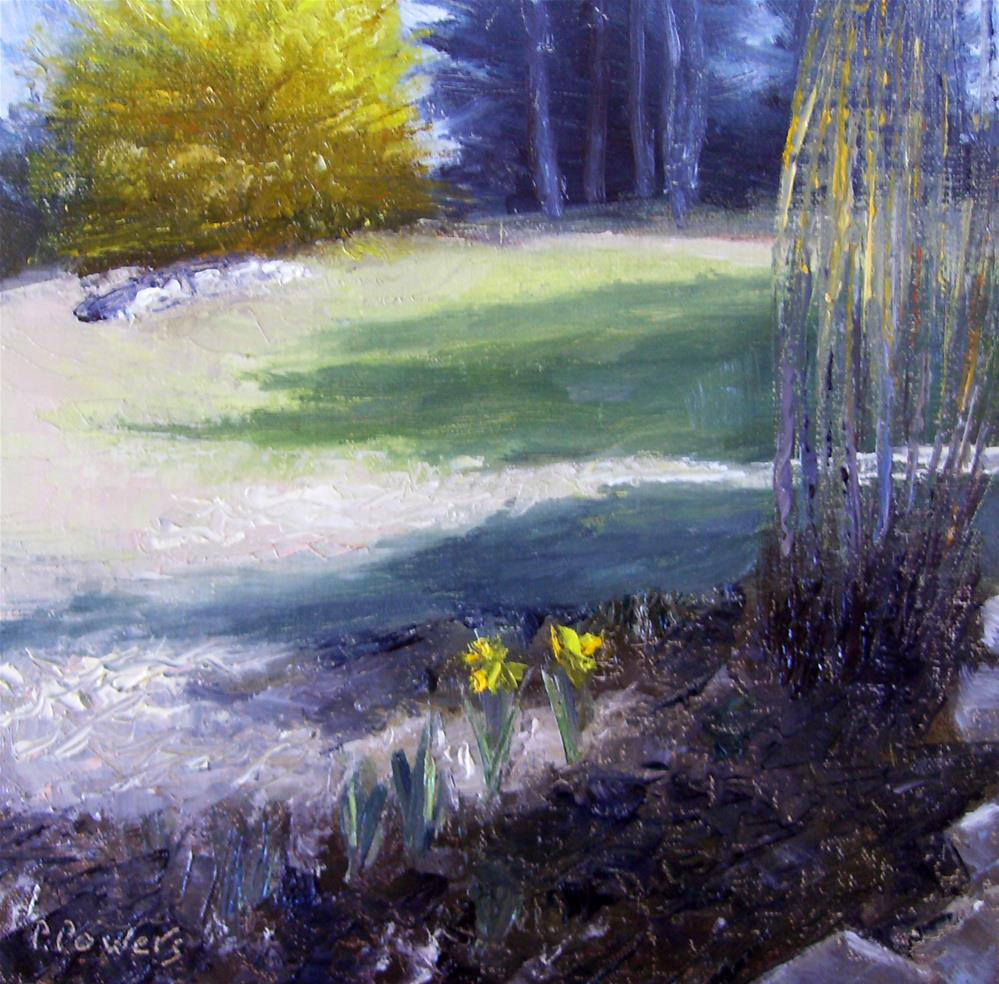 """Early Spring"" original fine art by Patricia J. Powers"