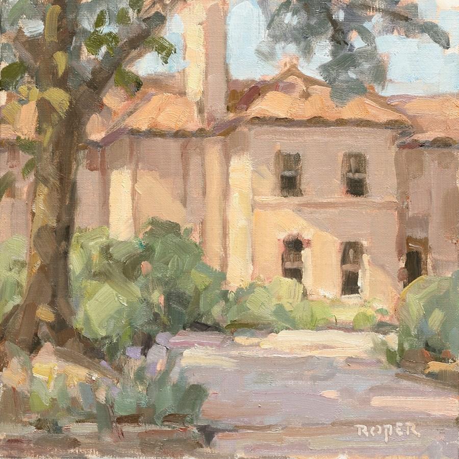 """DAY 11:  The Midland House"" original fine art by Stuart Roper"