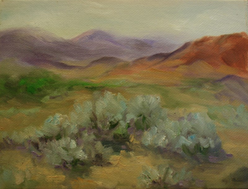 """High Desert Symphony"" original fine art by Jean Nelson"