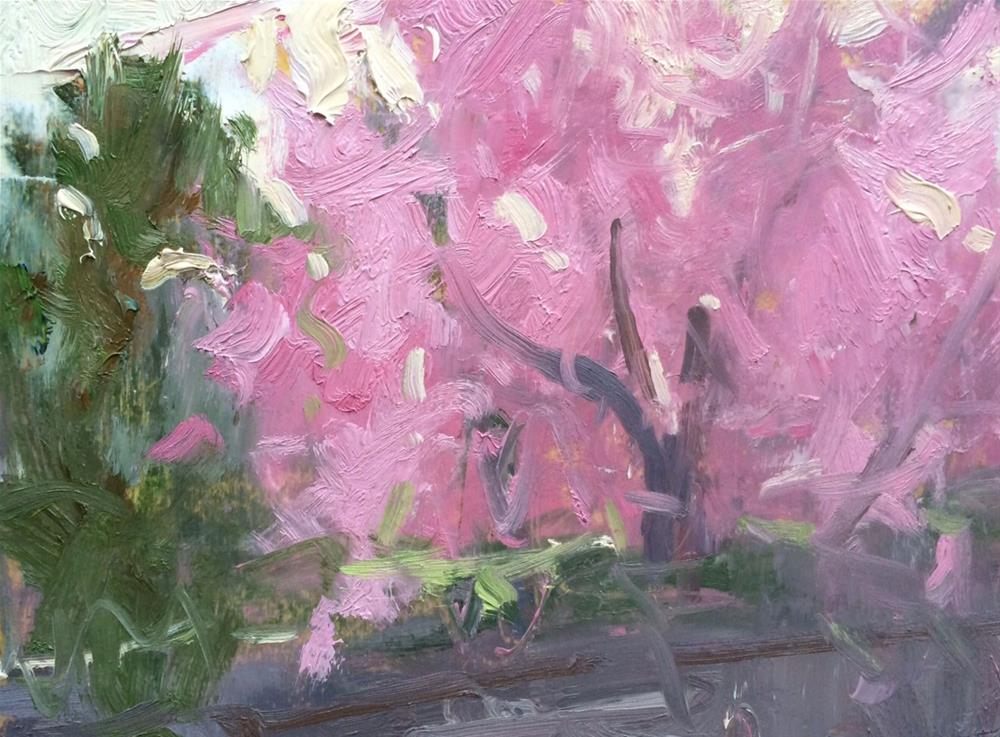 """Spring Blossoms "" original fine art by Michael Clark"